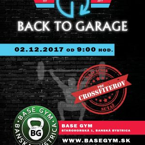 BACK TO GARAGE